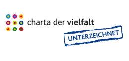 Logo Charta der Vielfalt unterzeichnet