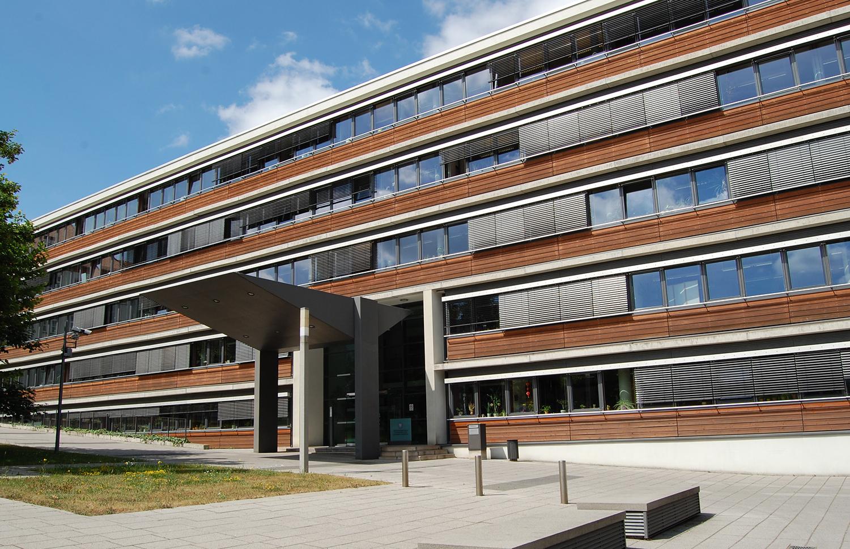 Thüringer Ministerium für Migration, Justiz und Verbraucherschutz - Ansicht von vorn