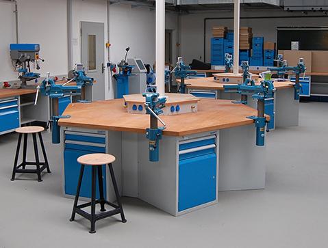 Werkstatt in der Jugendstrafanstalt Arnstadt