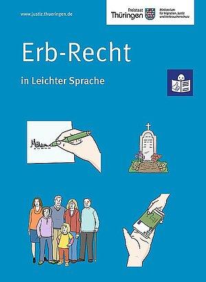 Cover Erb-Recht Leichte Sprache