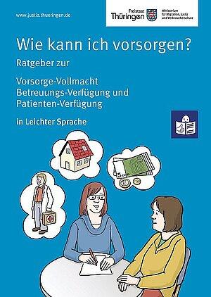 Cover Vorsorge in Leichter Sprache