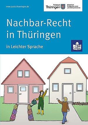 Cover Nachbar-Recht Leichte Sprache
